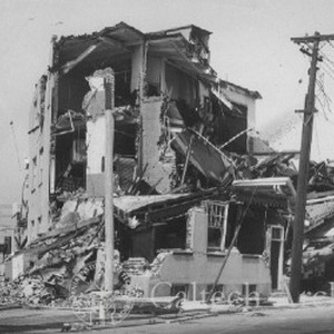 Damage from the Long Beach earthquake