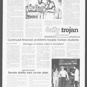 Daily Trojan, Vol. 76, No. 26, March 19, 1979