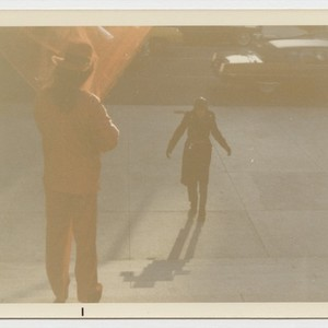 Untitled photograph (Byars at the Met...Invisibly; A Bright Tribute to the Discovery ...
