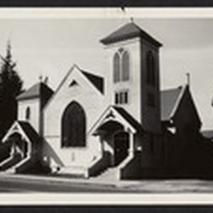 Presbyterian Church before demolition, 1948