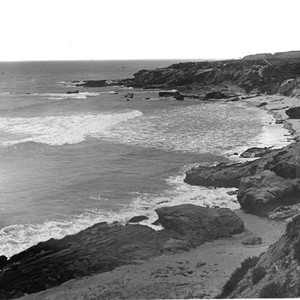 Coastline at Laguna Beach, California: Photograph
