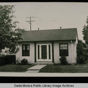 714 Fourth Street (Lot 55, Block A) Santa Monica, Calif. owned by ...