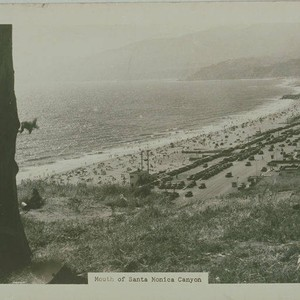 View of the coastline along Pacific Coast Highway from Inspiration Point