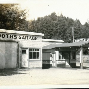 Booth's Service Station and Garage