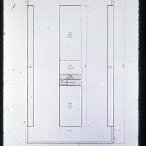 Drawing of Physical Sciences I, penthouse floor plan