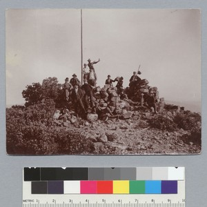 """On the summit of Mt. St. Helena, June 5th, 1898, view (L1),"" ..."
