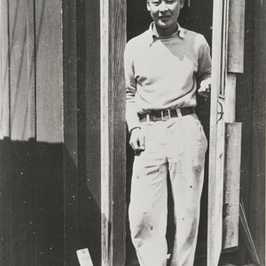 Sumio Tsuyuki, Japanese employee of the Burpee Seed Company, Lompoc : 1933