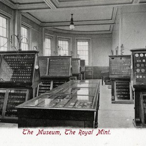 Postcard, The Museum, The Royal Mint