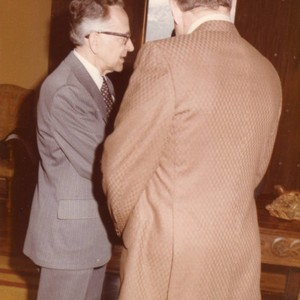 Justice Blackmun on the Left (Color)