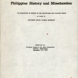 Philippine History and Miseducation, report, 1976-09-03/1976-09-05