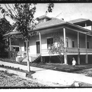 Berry House at 7234 Calder Avenue, circa 1900