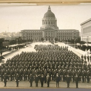 Oct. 25/24. Inspection S.F.P. [San Francisco Police] Dept