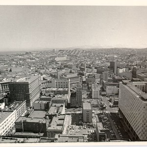 [View of San Francisco looking south from the St. Francis Tower]