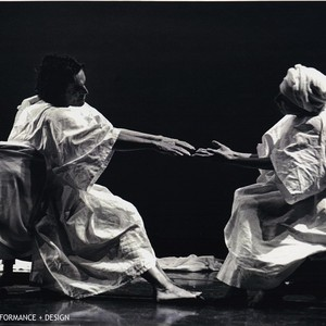 "David Greenaway and Anna Halprin in ""Intensive Care, Reflections on Death and ..."