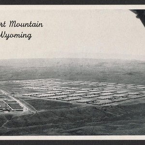Postcard, Heart Mountain, Wyoming