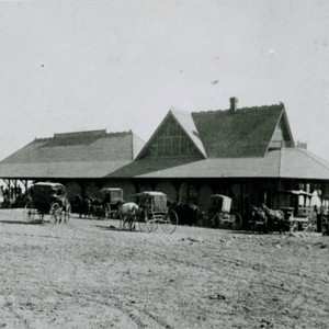 Old Santa Fe train station
