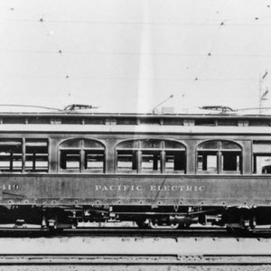 Older Pacific Electric car
