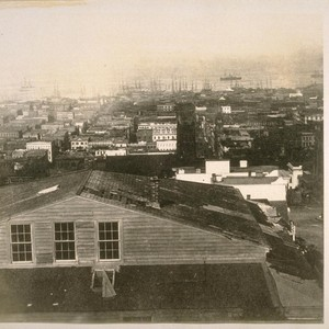 East from Powell St. between California and Sacramento Sts. About 1870