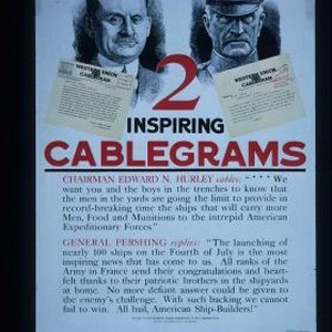 "2 inspiring cablegrams. Chairman Edward N. Hurley cables: ""...We want you and ..."