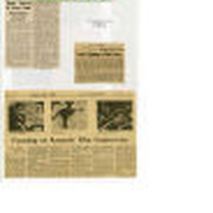 Collection of clippings relating to Years of Lightning, April-June, 1965