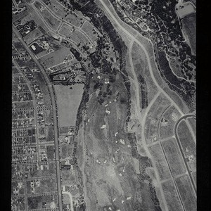 Aerial survey of the City of Santa Monica north to south (north ...