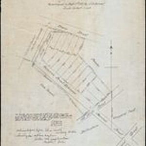 Map of subdivision of a part of the estate of Ynuario Aviala ...