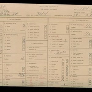 WPA household census for 344 S OLIVE STREET, Los Angeles