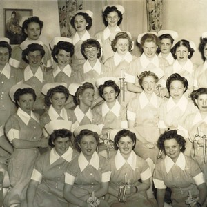 Margaret Gingrich memorabilia, School of Nursing, class of 1947