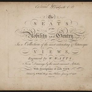 Annotations on The seats of the nobility and gentry in Great Britain ...