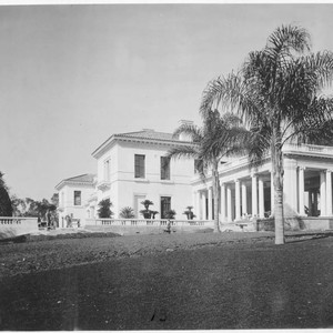 Huntington residence from the east., circa 1913