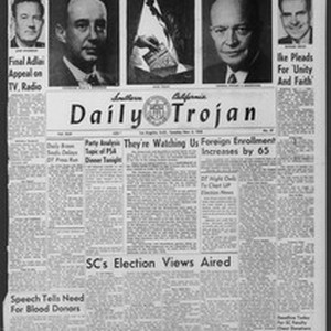 Daily Trojan, Vol. 44, No. 37, November 04, 1952