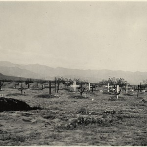 Calisphere Indian Cemetery At Palm Springs California