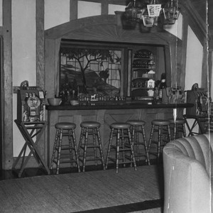 Bar in Bugsy Siegel's home