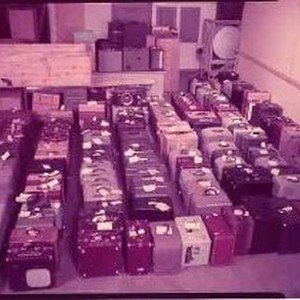 Film Projectors in McCurry's Basement
