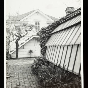 Greenhouse North Side, Luther Burbank Home & Gardens, Santa Rosa, California, 1985