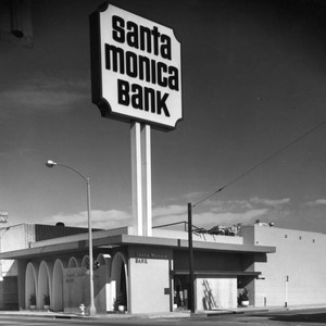 Santa Monica Bank branch on Pico Blvd