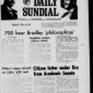 Sundial (Northridge, Los Angeles, Calif.) 1969-03-13