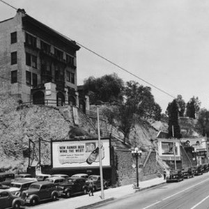In Downtown Los Angeles facing north on South Hill Street between West ...