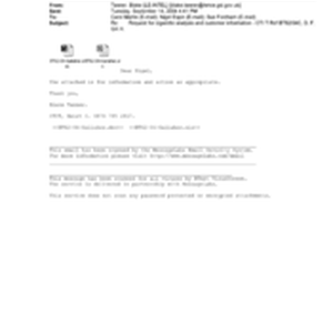 [Email from Tanner, Blake to Carol Martin, Nigel Espin and Sue Fordham ...