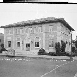 Post Office, Red Bluff, Calif