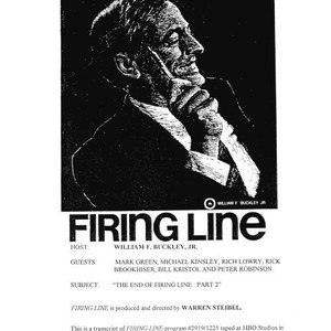 The End of Firing Line: Part II