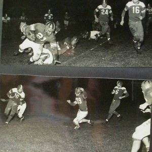 Analy High School football, fall, 1951--Analy Tigers vs Vallejo Apaches on Friday ...
