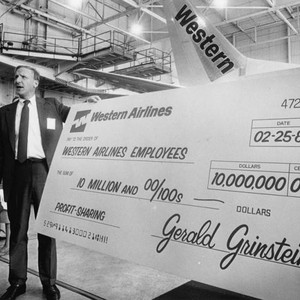 Gerald Grinstein of Western Airlines