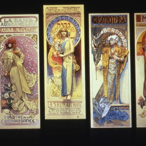 Lithographs by Alphonse Mucha