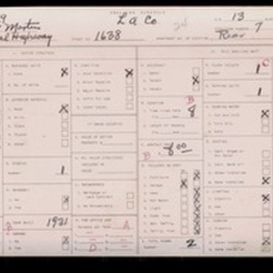 WPA household census for 1638 E IMPERIAL, Los Angeles County