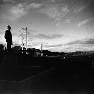 [Statue of Joseph B. Strauss at the Golden Gate Bridge]