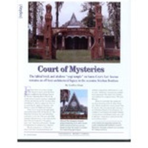 "Court of Mysteries: The fabled brick and abalone ""yogi temple"" on Santa ..."