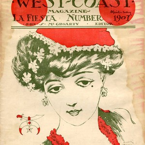 West Coast Magazine, April-May 1907 (front cover)