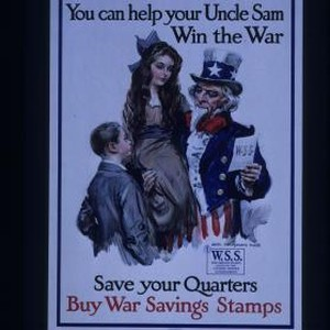 Boys and girls! You can help your Uncle Sam win the war. ...