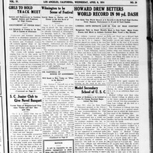 The Daily Southern Californian, Vol. 4, No. 29, April 08, 1914